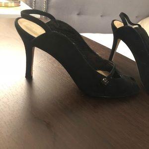 Kate spade dress shoes peep toe size 8